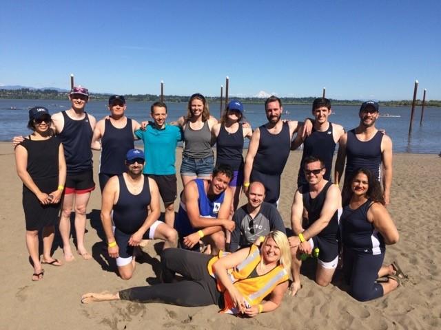 rowing team photo