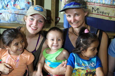 Honduras orphanage photo