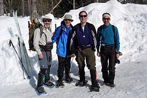 Gary Goldbaum Snowshoeing