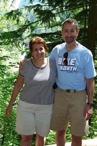 Gary Goldbaum and wife