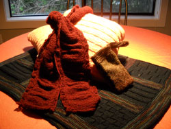 A knitting project