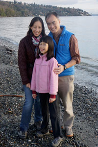 Tao Kwan-Gett and family