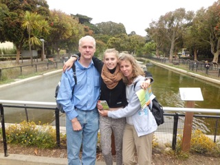Hendrika Meischke and family at the SF Zoo