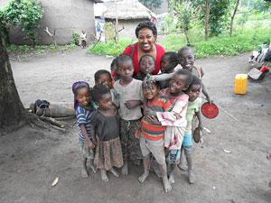 Sophia Teshome in Ethiopia