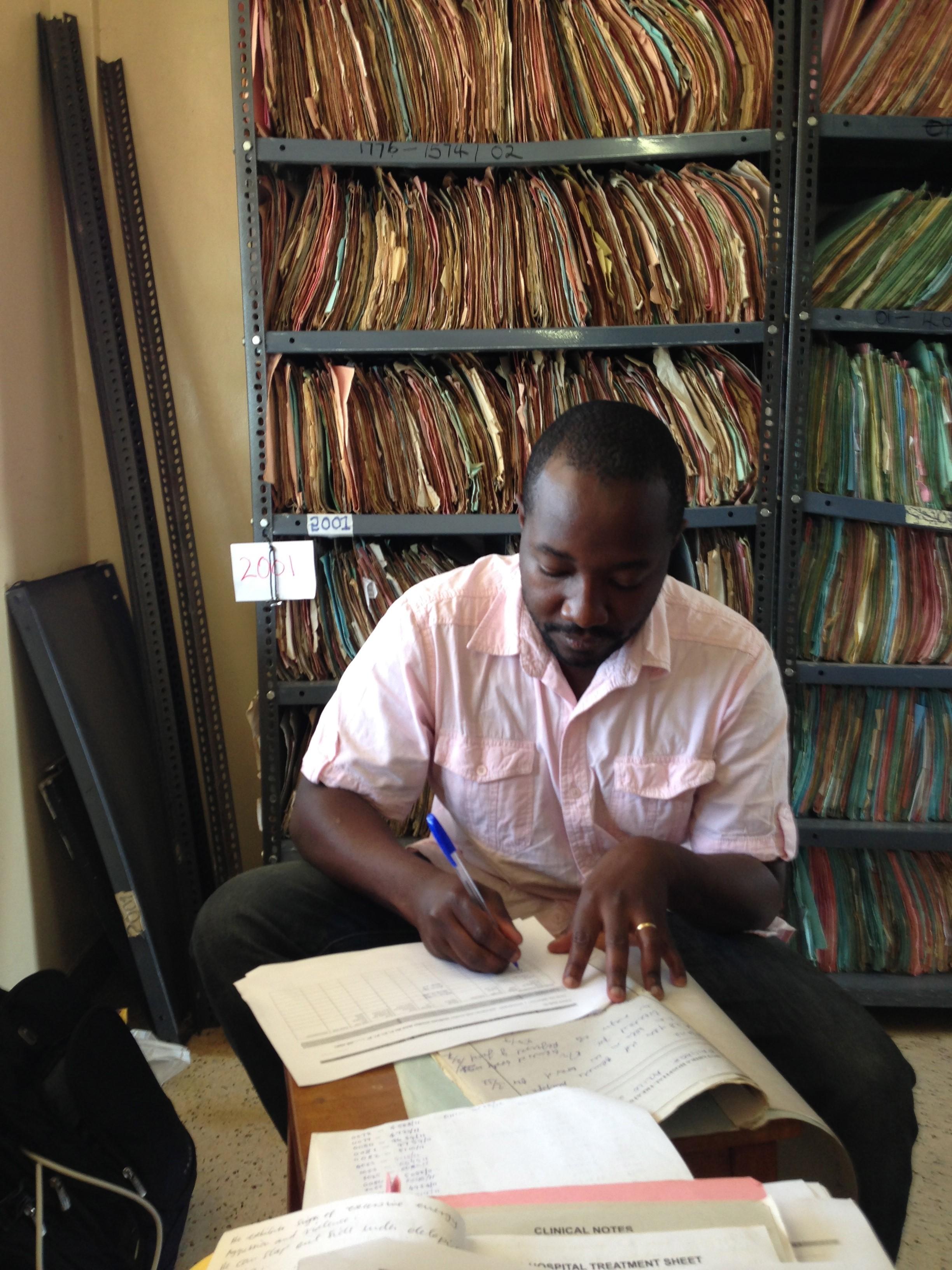 Solomon Lubinga in Uganda
