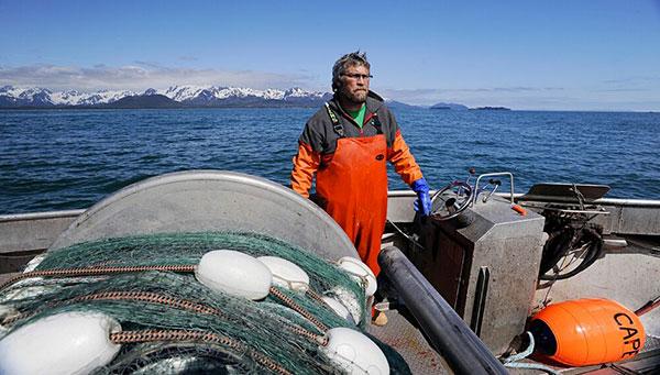 Alaska fisherman photo