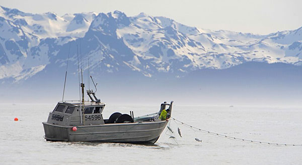 Alaska fishing boat photo
