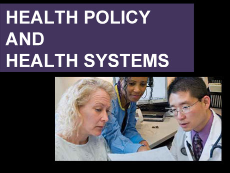HEALTH POLICY AND HEALTH SYSTEMS