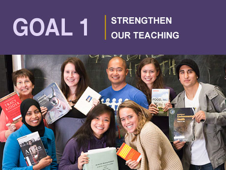 Goal 1: Strengthen our Teaching