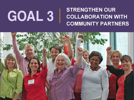 Goal 3: Strengthen our Collaboration with Community Partners