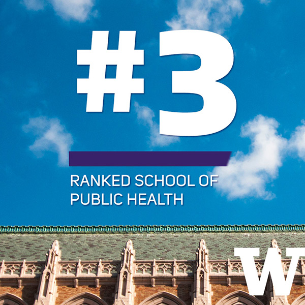 #3 ranked School of Public Health in the USA