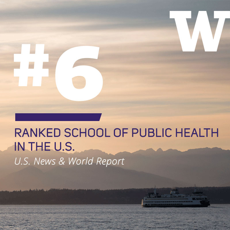 #6 ranked School of Public Health