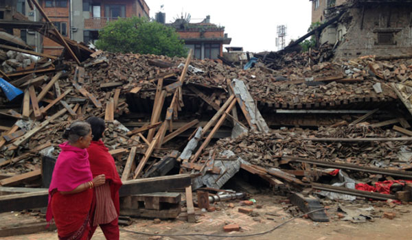 Nepalese quake photo