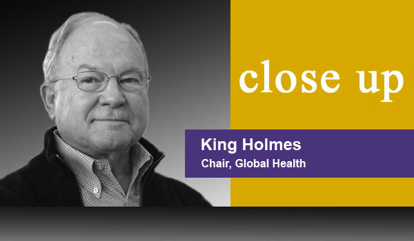 Close Up - King Holmes