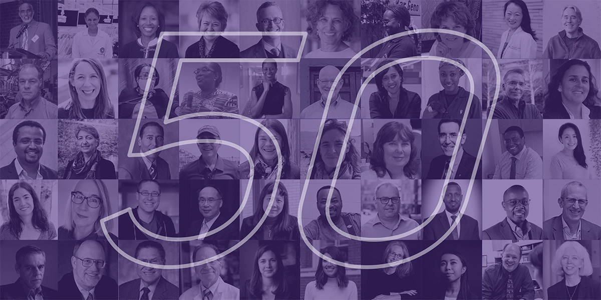 Collage of the 50 Changemakers of Public Health