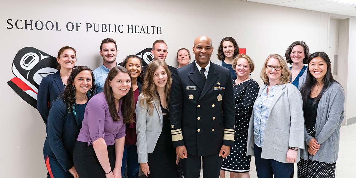 Jerome Adams with SPH Group Photo