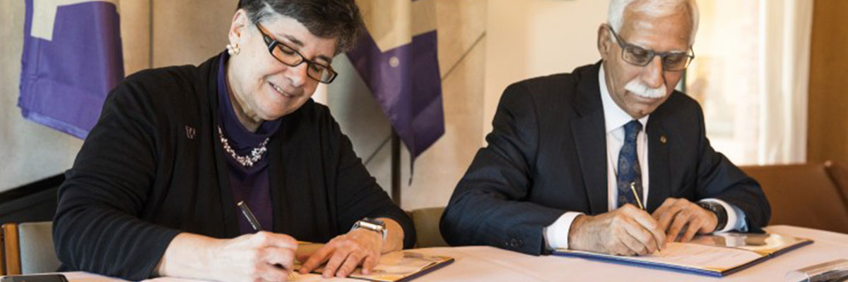 University of Washington and Aga Khan University sign agreement to further population health, research, service and education
