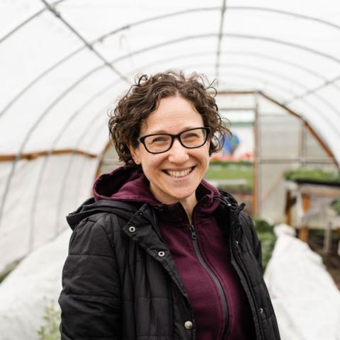 Yona Sipos at the UW Center for Urban Horticulture